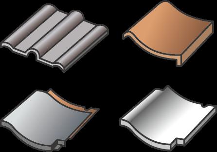 1. 瓦屋根の種類と名称