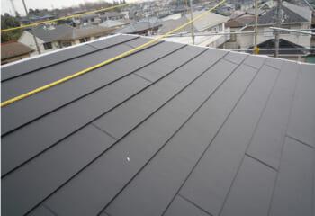 金属屋根材施工