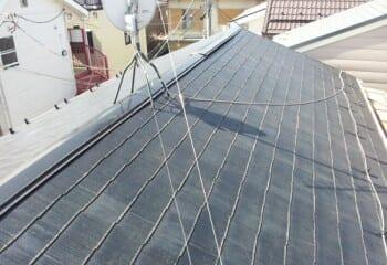 板金工事前の屋根
