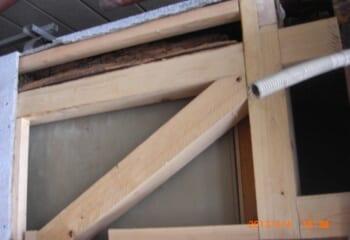柱と梁の補強