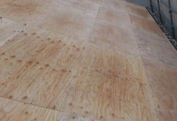 新規の野地板