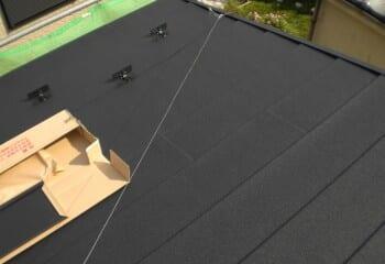 流山市 屋根修理 屋根リフォーム 施工完了