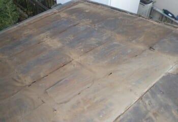 既存の屋根撤去