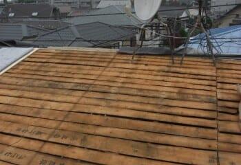 瓦棒 既存屋根撤去