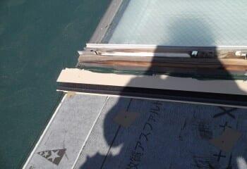 新規屋根材施工