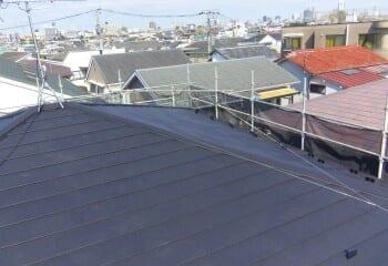 調布 屋根 完成