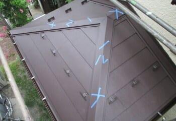 下屋根 完成