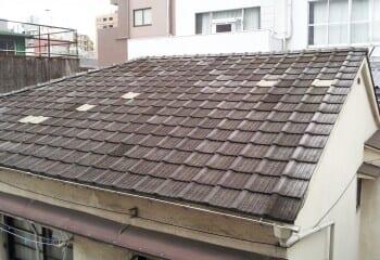 横浜市泉区 既存陶器瓦屋根