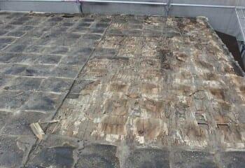 横浜市泉区屋根 既存屋根撤去