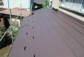 土浦市 屋根修理 屋根リフォーム 施工完了