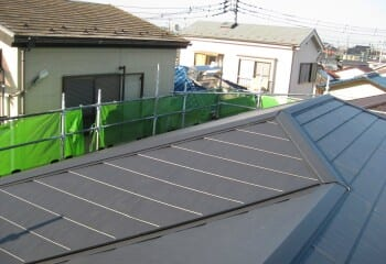 松戸市 屋根修理 施工完了