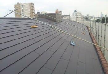 中野区 マンション屋根リフォーム 施工完了