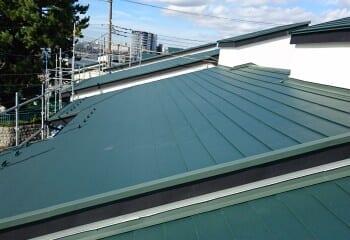 横浜市 テラスハウス屋根リフォーム 施工完了