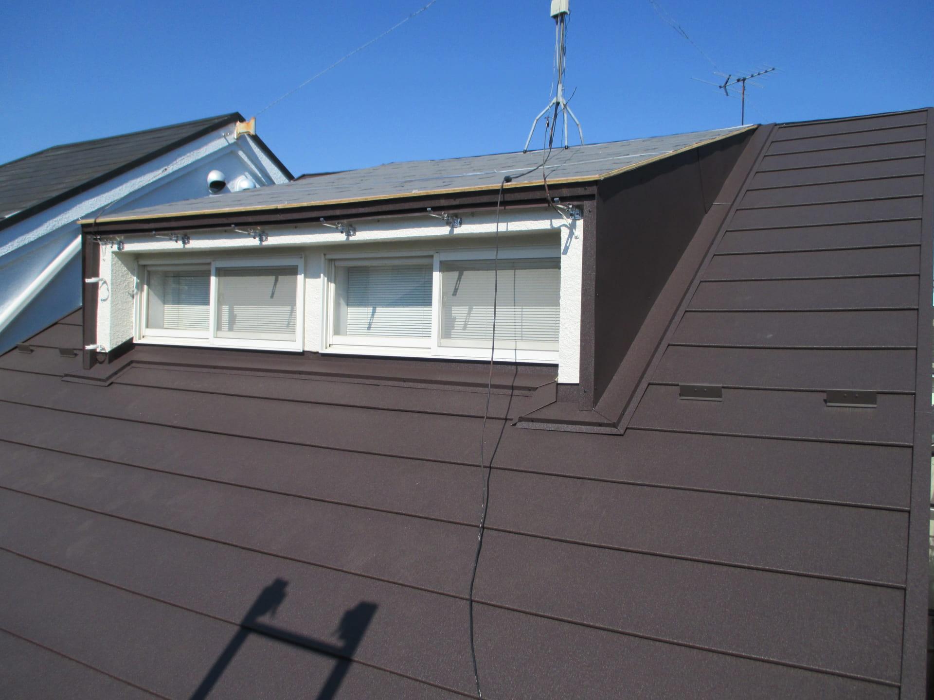 ドーマー屋根修理 完成写真