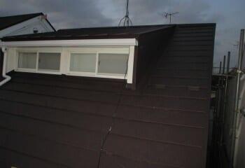 大和市 屋根修理 屋根リフォーム 施工完了