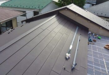 荒川区 屋根修理 屋根リフォーム 施工完了