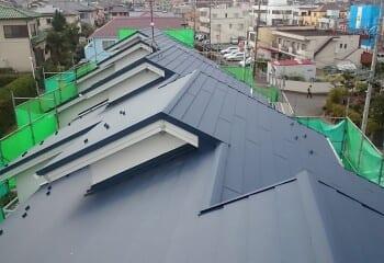 相模原市 屋根修理現場