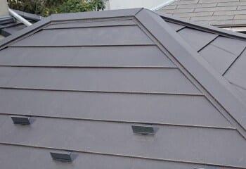 草加市 屋根修理 完成