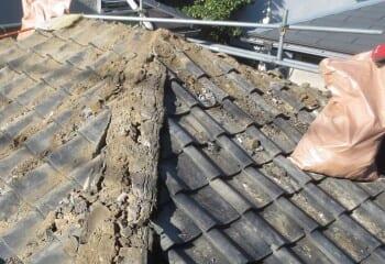 草加市 屋根リフォーム 工事開始