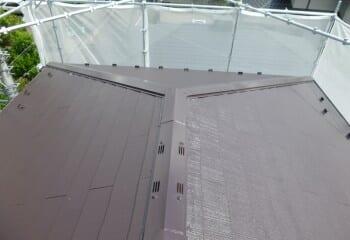 屋根塗装リフォーム 完成