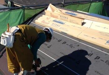 屋根瓦本体張り ガルバリウム鋼板
