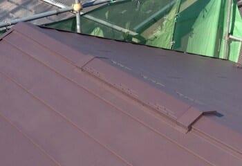 小平市 屋根修理 屋根リフォーム 施工完了