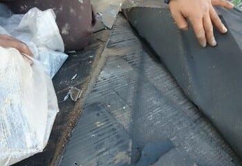 鎌倉市 コロニアル屋根カバー工法確認