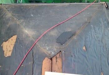 鎌倉市 既存屋根撤去画像