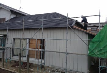常総市 屋根修理 屋根リフォーム 施工完了