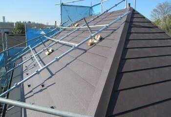 鎌ヶ谷市の屋根リフォーム完成完了