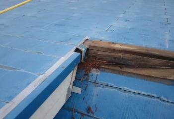 ミサワホーム 雨漏り修理