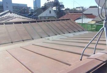渋谷区の屋根リフォーム 施工前