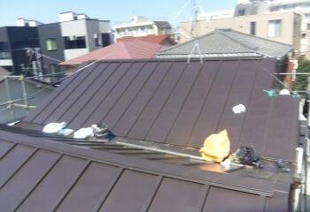 瓦棒屋根板金 完成