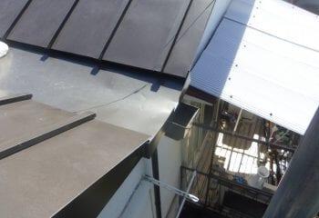 渋谷区 雨漏り屋根の修理工事