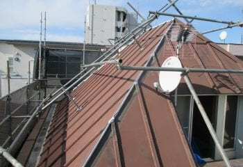 我孫子市の屋根リフォーム 施工前