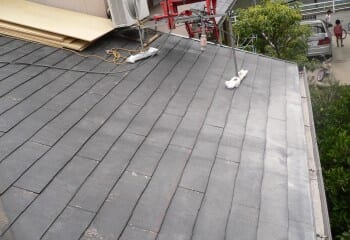 寝屋川市の雨漏り屋根リフォーム 施工前