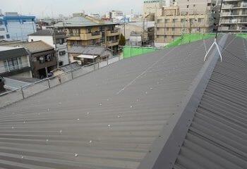 東大阪市 工場屋根の雨漏り改修工事 完成