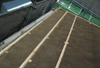 屋根リフォーム 工事開始