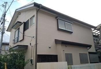 横浜市 外壁金属サイディング工事 完成
