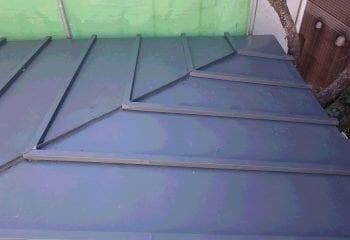 蕨市 瓦棒屋根修理 完成