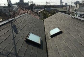 茅ヶ崎市 屋根の現場調査1