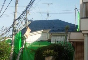 東京都港区 屋根リフォーム 完成