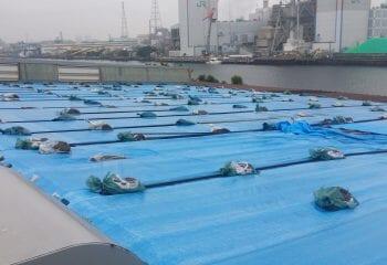 横浜市の工場屋根改修工事 事前調査