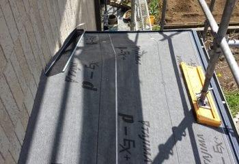 1-5.下屋根のカバー工法