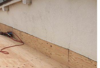 屋根と外壁の取り合い部は一体化させる