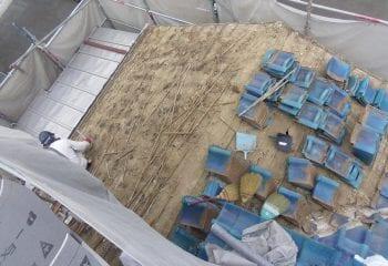 神戸市屋根工事開始