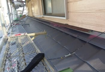 下屋根工事