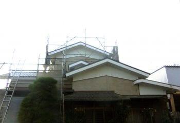 神戸市 金属サイディング 金属屋根工事 完成