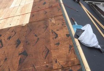 墨田区の屋根リフォーム工事開始