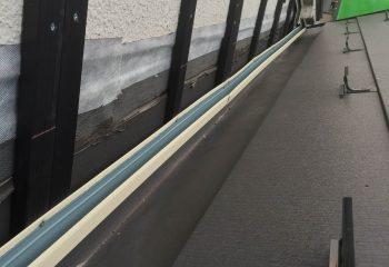 金属サイディングを張ることで外壁の防水能力を高める